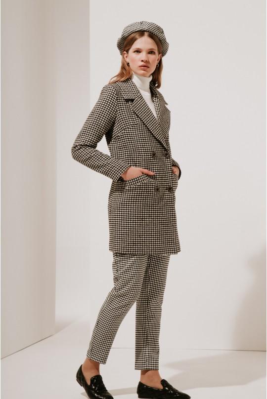 Классическое укороченное пальто