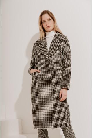 Пальто длинное классическое