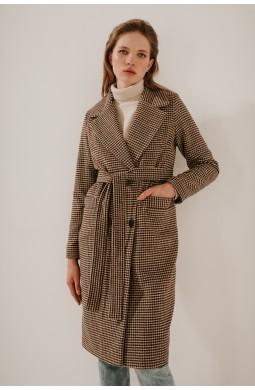 Пальто длинное класическое