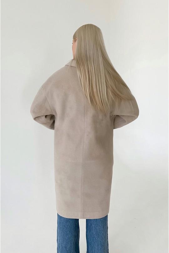 Пальто женское Valentir с плавно спущенной линией плеча