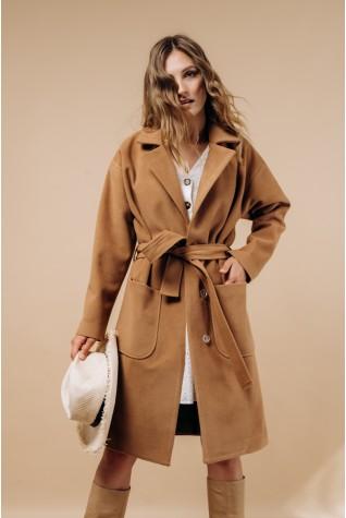 Пальто женское Valentir по колено со спущенным рукавом