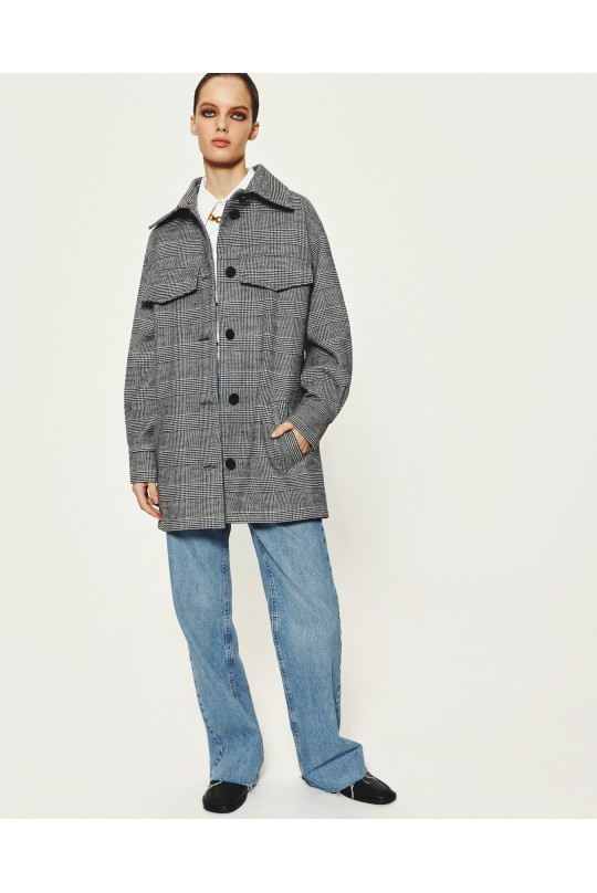 Пальто-рубашка Valentir под пояс