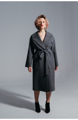 Пальто OVERSIZE Valentir Серый
