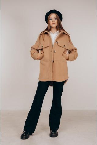 Пальто-рубашка Valentir короткое