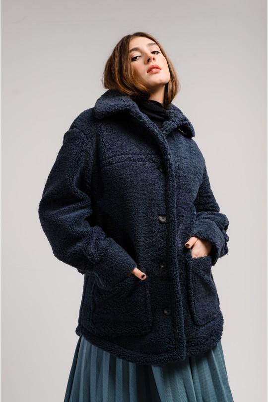 Пальто-рубашка Valentir с накладными карманами