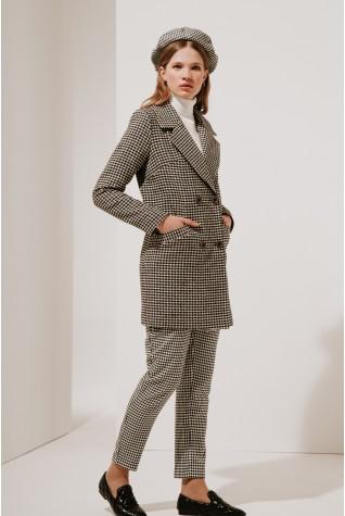 Пальто классическое Valentir укороченное 3022