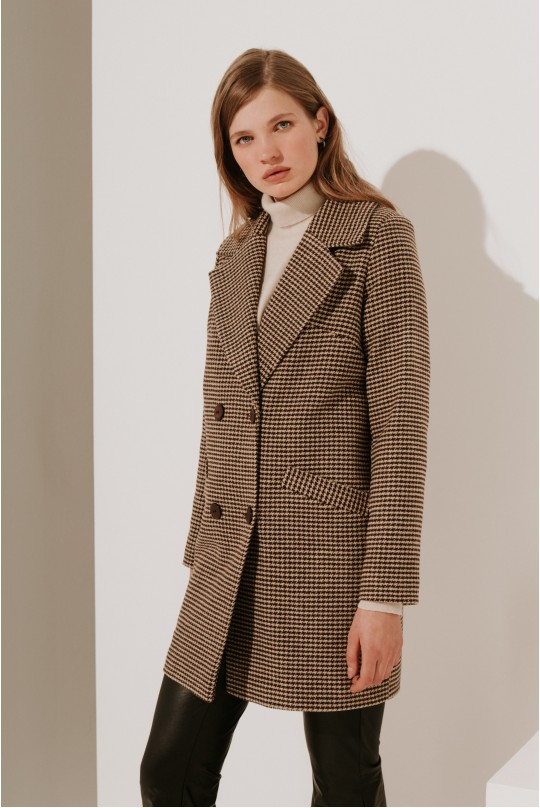 Пальто Valentir укороченное