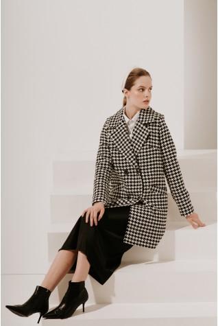 Пальто классическое Valentir укороченное 3024 (есть пояс)