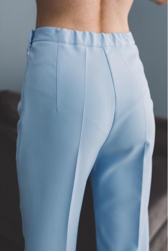 Костюм с длинным пиджаком