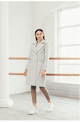 Пальто женское Valentir укороченное на 4 пуговицы
