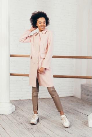 Пальто женское Valentir до колена на 4 кармана