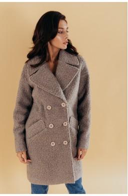 Пальто женское демисезонное Valentir Oversize на 6 пуговиц