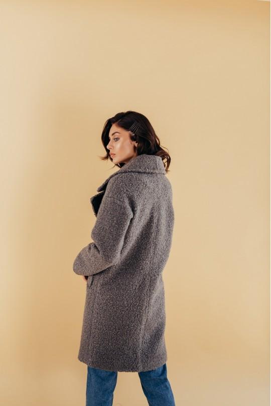 Пальто женское демисезонное Valentir двубортное Oversize