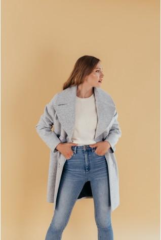 Пальто женское Valentir двубортное Oversize